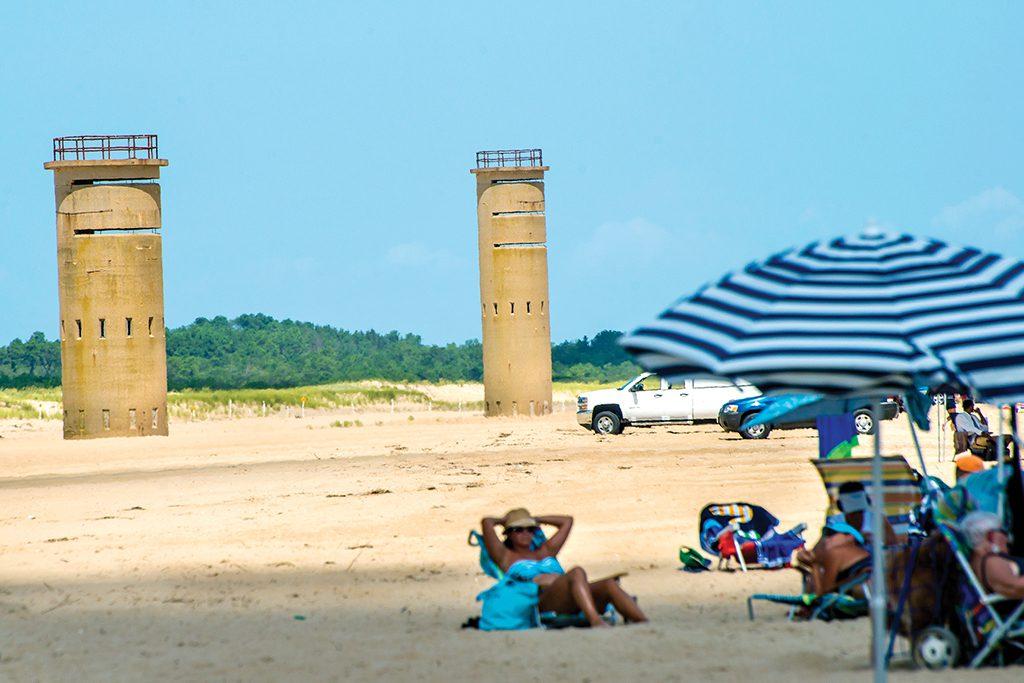 World War II towers in Delaware