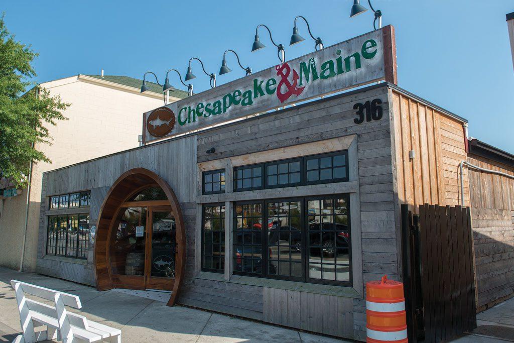 Dogfish Head restaurant