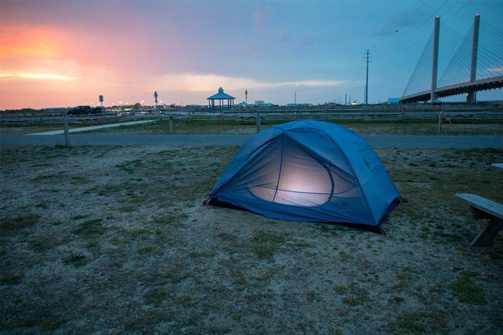 Rehoboth Beach camping, Delaware Seashore State Park camping, Cape Henlopen State Park camping