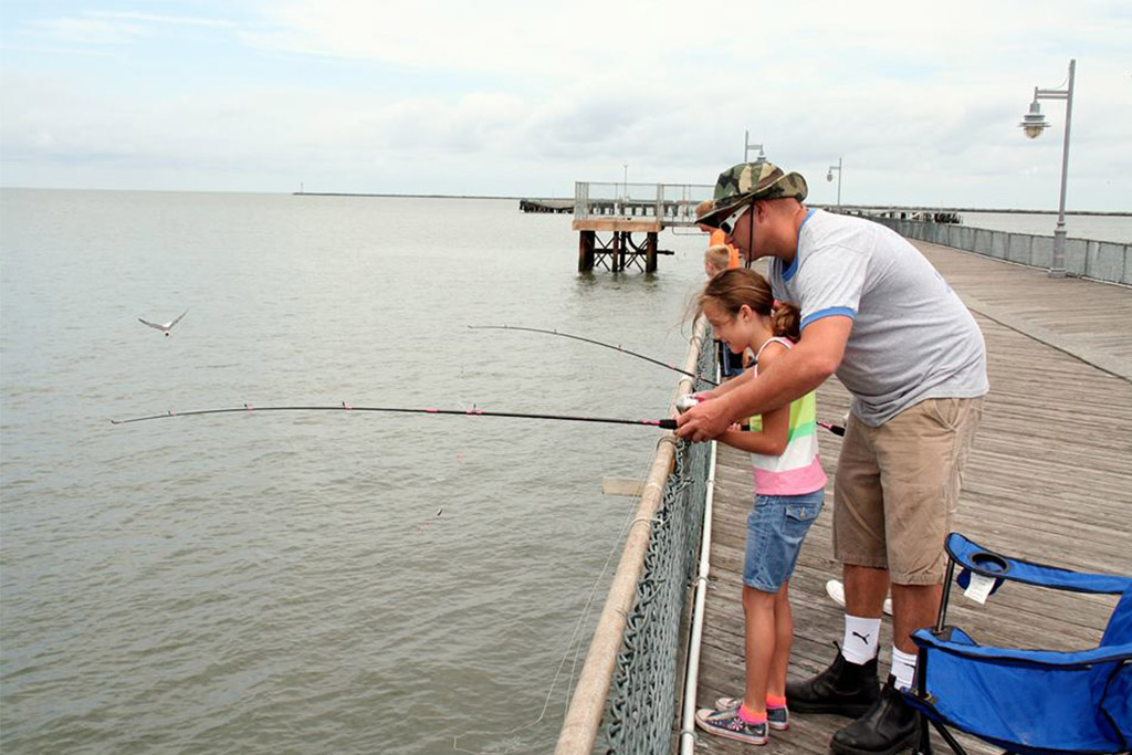 Fishing at Cape Henlopen State Park