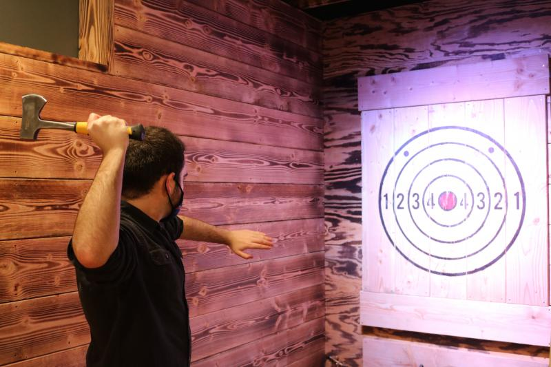 Axe Throwing in Lewes!