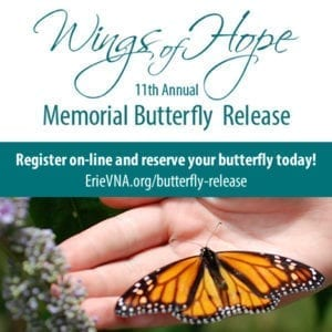 11th Annual Wings of Hope...A Butterfly Release